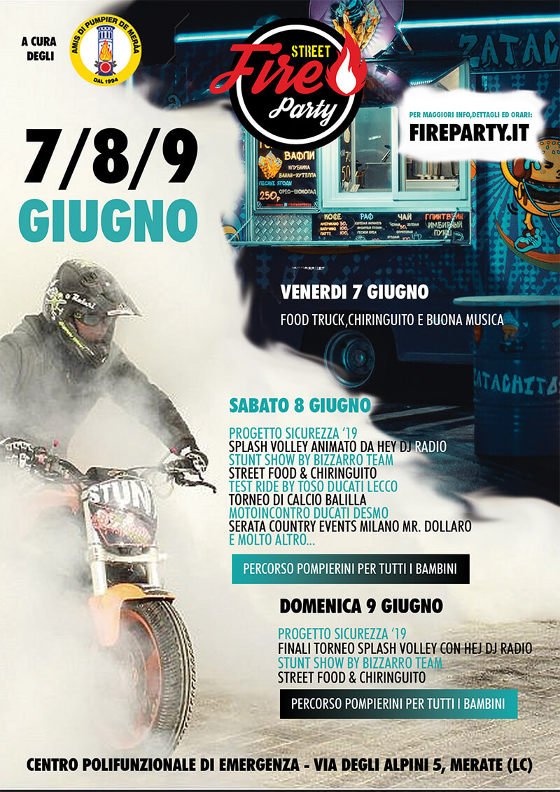 Street Fire Party 2019 @ Centro Polifunzionale di Emergenza