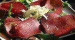Roast beef con rucola e grana